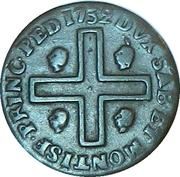 3 Cagliarese - Carlo Emanuelle III – reverse