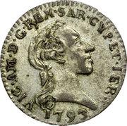 ½ Reale - Vittorio Amedeo III – obverse