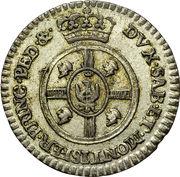 ½ Reale - Vittorio Amedeo III – reverse