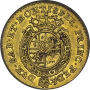 ¼ Doppia - Carlo Emanuele III – reverse