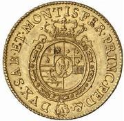 1 Doppia - Carlo Emanuele III – reverse