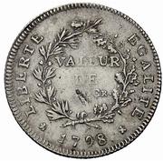 42 Kreuzer (Sarine et Broye) – reverse