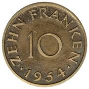 10 Franken (Trial Strike) – reverse