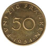 50 Franken (Trial Strike) – reverse