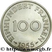 100 Franken (Trial Strike short lines) – reverse