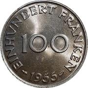 100 Franken – reverse