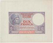10 francs Mines Domaniales de la Sarre (type 1920) – obverse