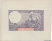 10 francs Mines Domaniales de la Sarre (type 1920) – reverse
