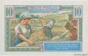 10 francs Trésor français (type 1947) – reverse