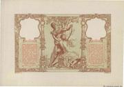 100 francs Mines Domaniales de la Sarre (type 1920) – reverse
