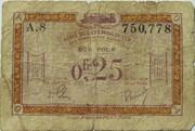 0.25 Francs (RCFTO) – obverse