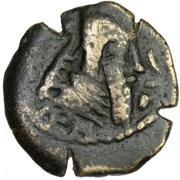 Pashiz / Unit / Chalkous - Ardashir I (type II - Parthian style Kulah) – obverse