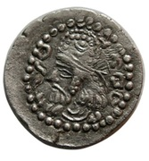 Obol - Ardashir I (type I/1 - Parthian style) – reverse