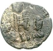 Pashiz / Unit / 8 Chalkoi - Varhran II (type XI/3) – obverse