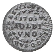1 Soldo - Vittorio Amedeo II (Turin) – obverse
