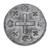 1 Soldo - Vittorio Amedeo II (Turin) – reverse