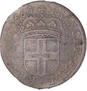 5 soldi - Carlo Emanuele II – reverse