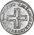 2 Denari - Carlo Emanule III – obverse