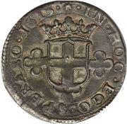 2 Fiorini - Carlo Emanuele I (1st type) – reverse