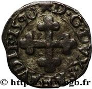 ¼ Grosso - Carlo Emanuele I (2nd type) – reverse