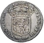 20 Soldi - Vittorio Amedeo II – reverse