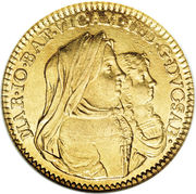 1 Doppia - Vittorio Amedeo II – obverse