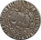 1/2 gros Amédée VIII comte de Savoie (1er type) – obverse