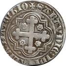 1/2 gros Amédée VIII comte de Savoie (1er type) – reverse