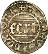 ¼ Gros - Amedeo VIII (2nd Type) – obverse
