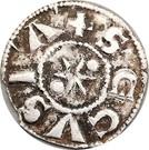 Denier sécusain Humberto II comte de Savoie (1080-1103) – reverse