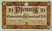 10 Pfennig (Hermsdorf in Thüringen) – obverse
