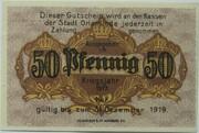 50 Pfennig (Orlamünde) – reverse