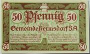 50 Pfennig (Hermsdorf in Thüringen) – obverse