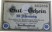 10 Pfennig (Altenburg) – obverse