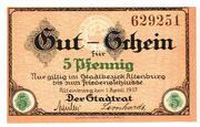 5 Pfennig (Altenburg) – obverse