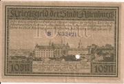 10 Mark (Altenburg) – reverse