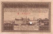 20 Mark (Altenburg) – reverse