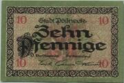 10 Pfennig (Pößneck) – obverse