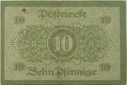 10 Pfennig (Pößneck) – reverse