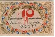 10 Pfennig (Sonneberg) – obverse