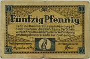 50 Pfennig (Camburg) – obverse