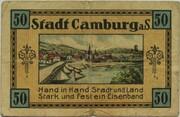 50 Pfennig (Camburg) – reverse