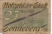 25 Pfennig (Sonneberg) – obverse
