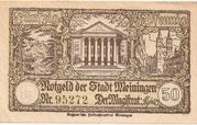 50 Pfennig (Meiningen) -  obverse