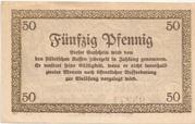 50 Pfennig (Meiningen) -  reverse