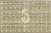 5 Mark (Pößneck) – reverse