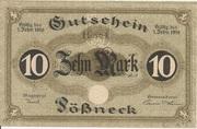 10 Mark (Pößneck) – obverse