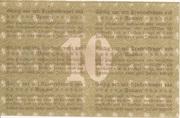 10 Mark (Pößneck) -  reverse