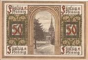 50 Pfennig (Oberlind) – reverse