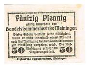 50 Pfennig (Meiningen; Handels- und Gewerbekammer) – reverse